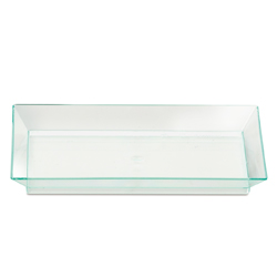 Comatec Rectangular Appetizer Plate Sea Green 5 x 2.25 inch