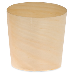 Small Wood Paper Cup - 1 1/2 inch diameter