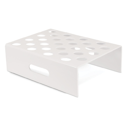 White Plastic Stand For R747; 28 Holes