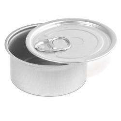 Comatec Round Tin with Pull Tab Lid