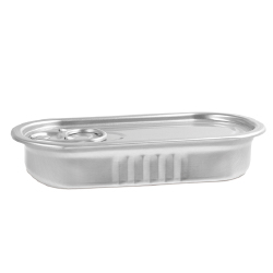 Comatec Rectangular Anchovy Tin - 3 ozs.