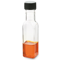 Comatec Mini Plastic Bottle with Screw Cap .84 ounce