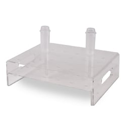Clear Display for Mini Push Up for R981 30 Holes