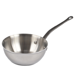 M' Cook Curved Splayed Saute Pan - 6.3 inch diam., 0.9 Quarts