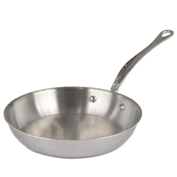 M'Cook Round Frying Pan, Cast Stainless Steel Handle, 9.15 in. diam.