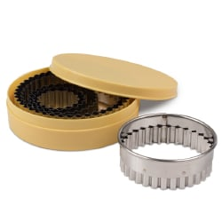 Fluted Round Cutter Set