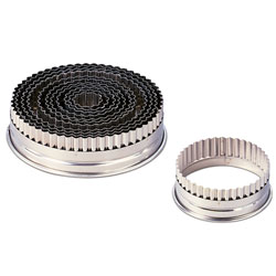 Fluted Round Cutter Set - 12 pcs