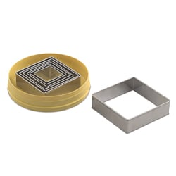 Square Cutter Set - 7 pc