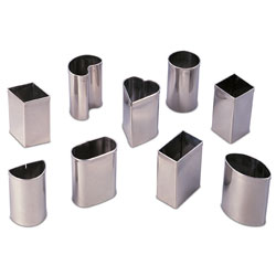 Petit Four Cutter Set-Stainless Steel