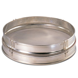 Sieve 16 inch-Stainless Steel