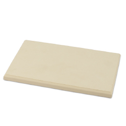 Rubber Cutting Board 6 x 8 inches - 1/2 inch thick