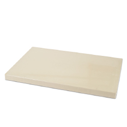 Rubber Cutting Board 12 x 18 inches - 1 inch thick.
