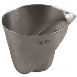 Oxo Angled Measuring Cup - Stainless Steel - 2 oz