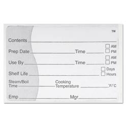 Cook Chill Sous Vide Label - 500 Count