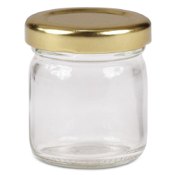 Mini Glass Jar with Screwtop Cap 1.3 oz.