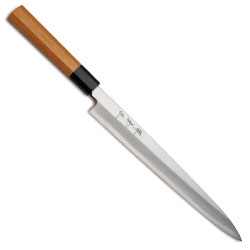 Pointed Sashimi Knife - 10.5 inch Octaganal Handle