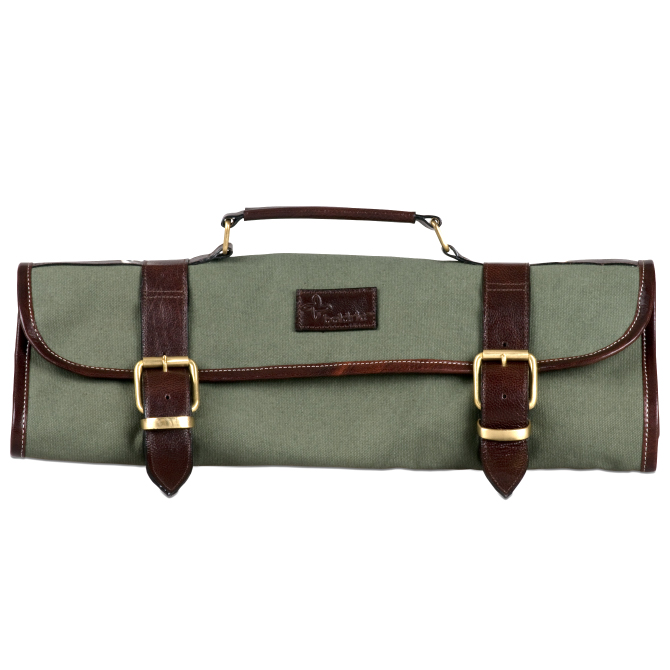 Boldric Green Canvas Knife Bag Jbprince Com