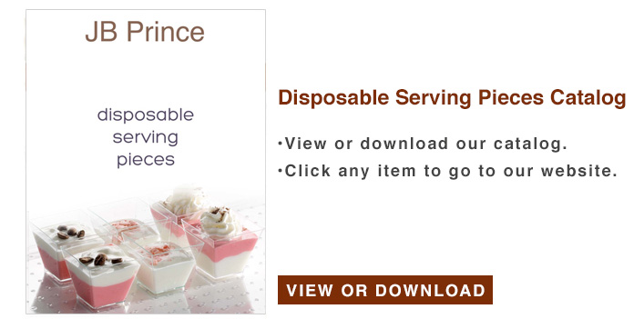 Disposable Serving Pieces Catalog