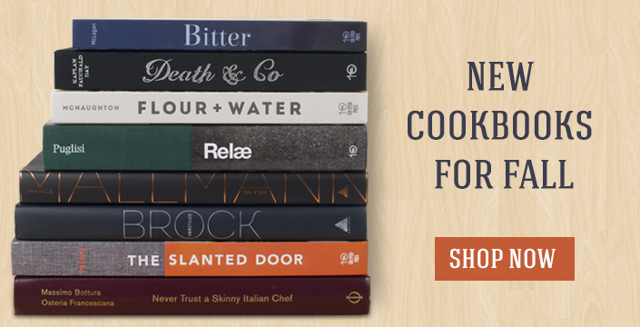 Just in new cookbooks for fall