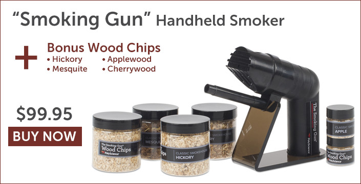 Smoking Gun Handheld Smoker with Bonus Wood Chips