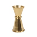 Cocktail Kingdom Japanese Style Jigger Gold Plated 1/2 oz and 3/4 oz