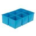 Cocktail Kingdom Flexible Ice Cube Tray 6 forms -  2 inch