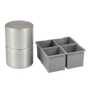 Cocktail Kingdom 55mm Ice Ball Maker- Silver Finish