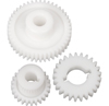 3 Plastic Gears For P108