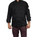 Chef Revival Cuisinier Chef's Jacket - Black - Large