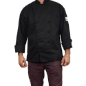 Chef Revival Cuisinier Chef's Jacket - Black - Small