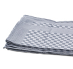 Black Check Side Towel 10 Pack 17.7