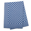 Blue Check Side Towel 17.7