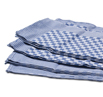 Blue Check Side Towel 10 Pack 17.7