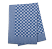 Blue Check Side Towel 17.7 x 25.5 inches - 5 pack
