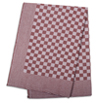 Brown Check Side Towel 17.7