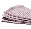 Brown Check Side Towel 10 Pack 17.7