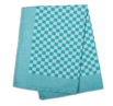 Green Check Side Towel 17.7 x 25.5 inches - 5 pack
