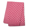 Red Check Side Towel 17.7 x 25.5 inches - 5 pack