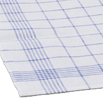 100% Linen Glass Towel - Check - 27.5 Inches by 19.75 Inches - 10 pk.