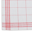100% Linen Extra Fine Windowpane Glass Towel -  29.5 Inches x  22 Inches - 10 pk.