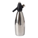 Soda Siphon 1 Quart Stainless Steel
