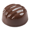 Ridged Dome Chocolate Mold - 40 Forms