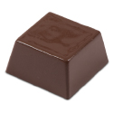 Plain Squares Chocolate Mold - 40 Forms