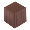 Pinstripe Cube Chocolate Mold