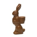 Rabbit W/Basket - 2 Piece Mold