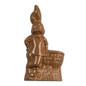13.5 inch Rabbit W/Basket - 2 pc Mold