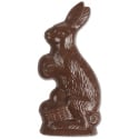 Rabbit W/ Egg Basket 2pc Mold