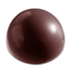120 Millimeter Demisphere Chocolate Mold, Single Form