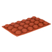 Orange Non-Stick - 24 Pompomette