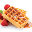 Orange Non Stick Waffles 20 cav